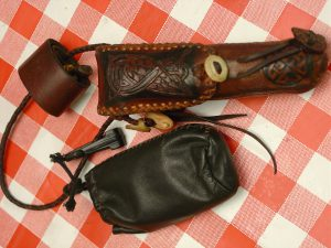 Celtic knife pouch