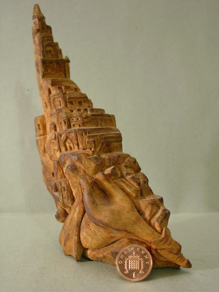 Dragon castle whittling