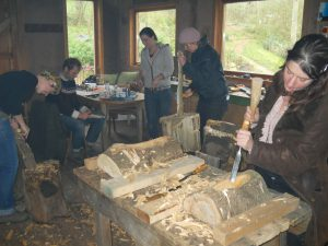 green woodworking and carving in Bristol