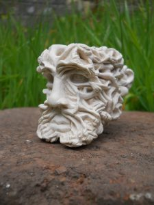 green man meerschaum pipe bowl