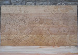 braille woodcarving