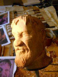 carving a self portrait