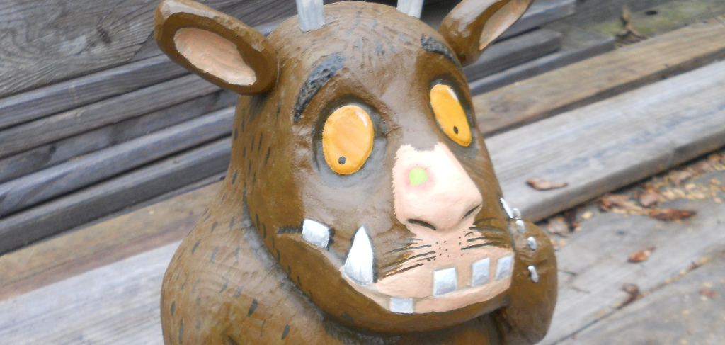 Sculpture inspired by 'The Gruffalo' 2015