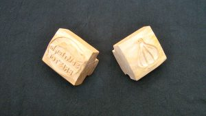 ceramic stamps for st werburghs pottery