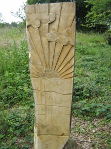 jubilee stone wood post