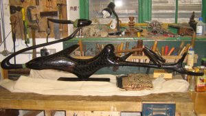 Ebony sculpture by Friday Tembo