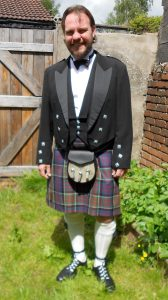 Muted MacDonald of Clan Ranald tartan