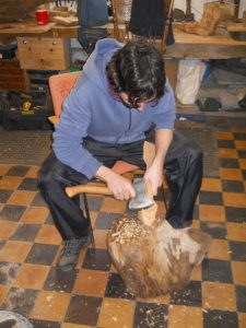 teaching woodcarving in Bristol