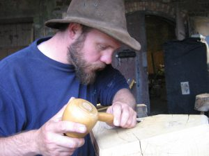 Alistair park woodcarver