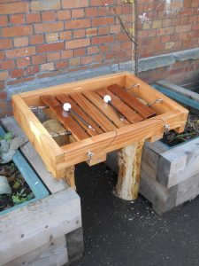 Xylophone for playground